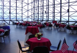 Pavilion Reception with a Patriotic Theme