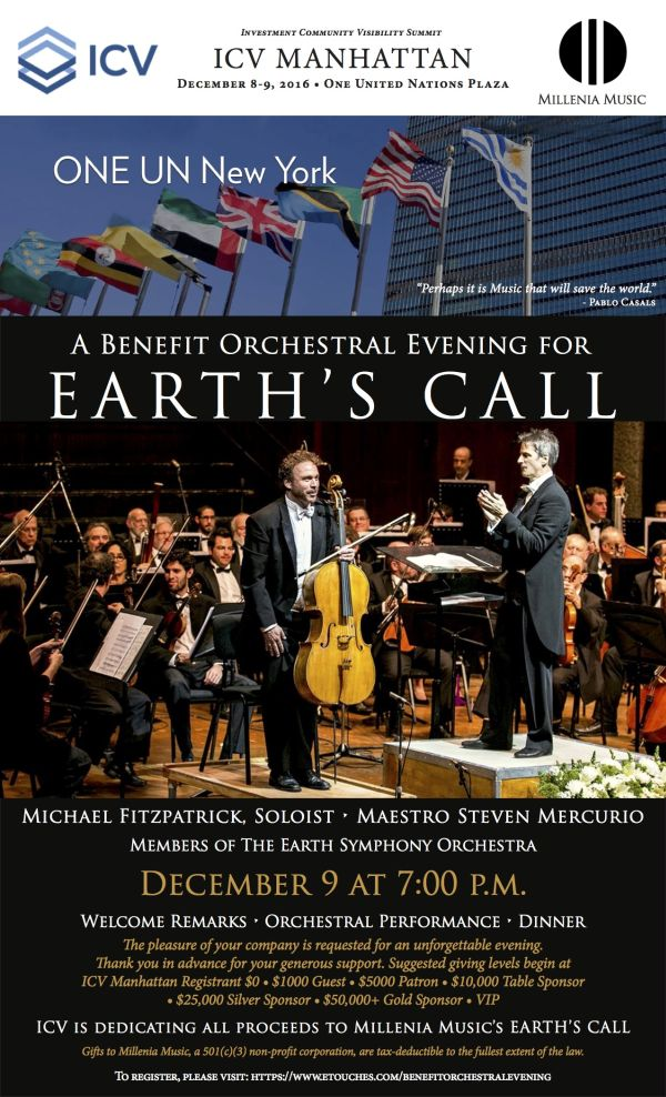 ICV Manhattan - Benefit Orchestral Evening